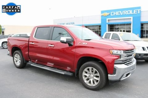 Certified Pre-Owned 2020 Chevrolet Silverado 1500 LTZ