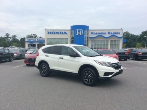 Certified Pre-Owned 2016 Honda CR-V SE - Honda CERTIFIED